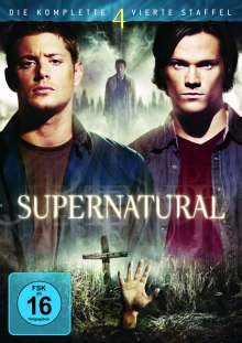 Supernatural Staffel 4, 6 DVDs