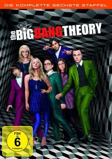 The Big Bang Theory Staffel 6, 3 DVDs