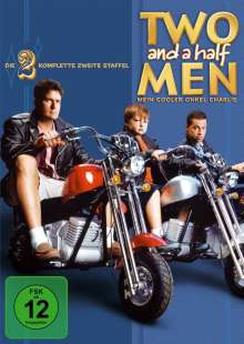 Two And A Half Men Season 2, 4 DVDs