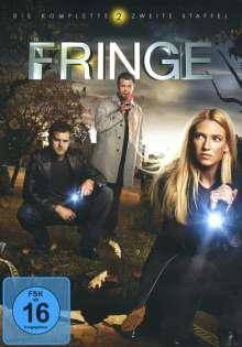 Fringe Season 2, 6 DVDs