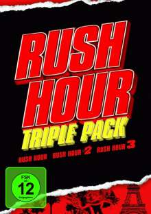 Rush Hour 1-3, 3 DVDs