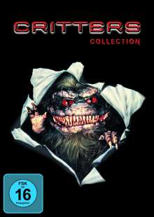 Critters 1-4, 4 DVDs