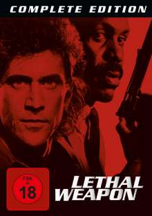 Lethal Weapon I-IV, 8 DVDs