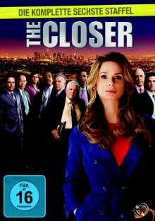 The Closer Season 6, 3 DVDs