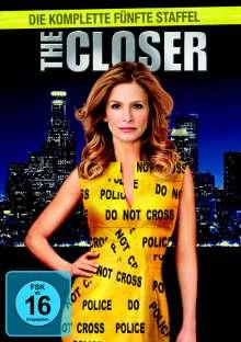 The Closer Season 5, 4 DVDs