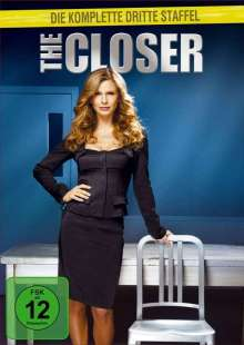 The Closer Season 3, 4 DVDs