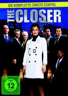 The Closer Season 2, 4 DVDs