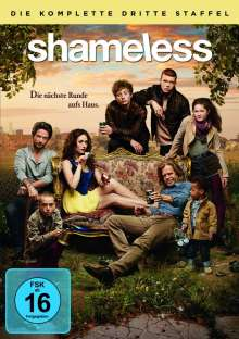 Shameless Season 3, 3 DVDs