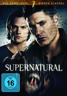 Supernatural Staffel 7, 6 DVDs
