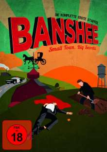 Banshee Season 1, 4 DVDs