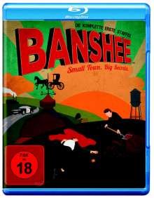 Banshee Season 1 (Blu-ray), 4 Blu-ray Discs