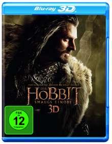 Der Hobbit: Smaugs Einöde (3D & 2D Blu-ray), 4 Blu-ray Discs