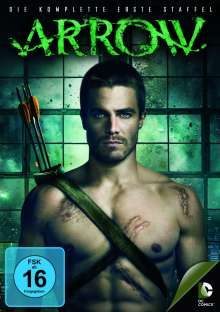 Arrow Staffel 1, 5 DVDs