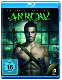 Arrow Staffel 1 (Blu-ray), 4 Blu-ray Discs