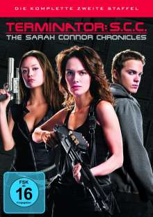Terminator: The Sarah Connor Chronicles Season 2, 6 DVDs