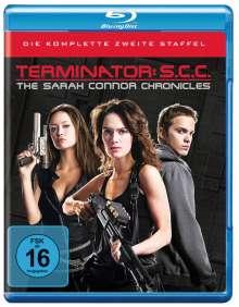 Terminator: The Sarah Connor Chronicles Season 2 (Blu-ray), 5 Blu-ray Discs