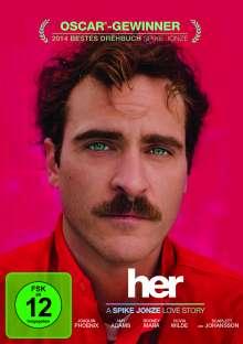 Her (2013), DVD