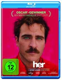 Her (2013) (Blu-ray), Blu-ray Disc