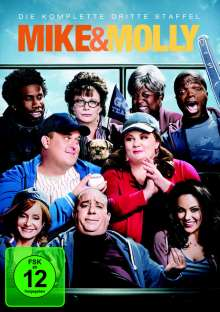 Mike & Molly Season 3, 3 DVDs
