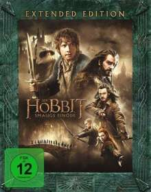 Der Hobbit: Smaugs Einöde (Extended Edition) (Blu-ray), 3 Blu-ray Discs