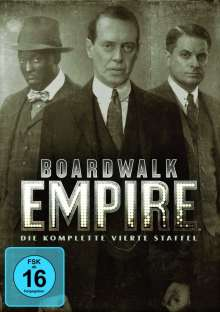 Boardwalk Empire Season 4, 4 DVDs