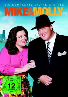 Mike & Molly Season 4, 3 DVDs