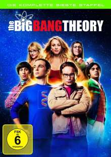 The Big Bang Theory Staffel 7, 3 DVDs