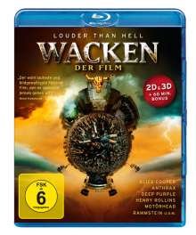 Wacken - Der Film (3D & 2D Blu-ray), Blu-ray Disc