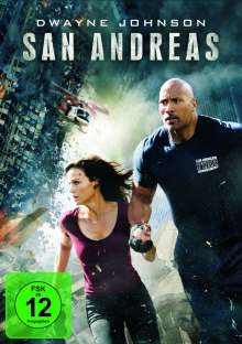 San Andreas, DVD