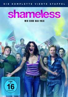 Shameless Staffel 4, 4 DVDs