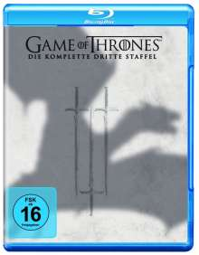 Game of Thrones Season 3 (Blu-ray), 5 Blu-ray Discs
