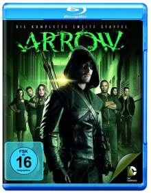 Arrow Staffel 2 (Blu-ray), 4 Blu-ray Discs