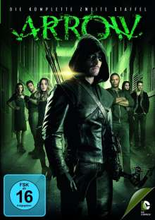 Arrow Staffel 2, 5 DVDs