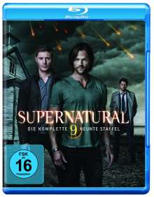 Supernatural Staffel 9 (Blu-ray), 4 Blu-ray Discs