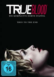 True Blood Season 7, 4 DVDs