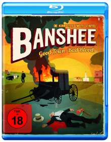 Banshee Season 2 (Blu-ray), 4 Blu-ray Discs