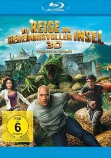 Die Reise zur geheimnisvollen Insel (2012) (3D Blu-ray), Blu-ray Disc