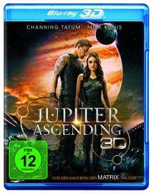 Jupiter Ascending (3D Blu-ray), Blu-ray Disc