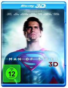 Man Of Steel (3D Blu-ray), Blu-ray Disc