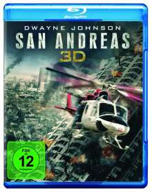 San Andreas (3D Blu-ray), Blu-ray Disc