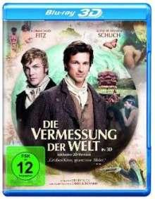 Die Vermessung der Welt (3D Blu-ray), Blu-ray Disc