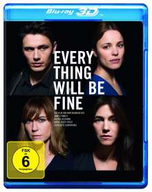 Every Thing Will Be Fine (3D & 2D Blu-ray), 2 Blu-ray Discs