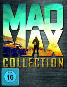 Mad Max Collection (Mad Max 1-3 & Fury Road) (Blu-ray), 4 Blu-ray Discs