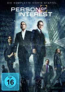 Person Of Interest Season 4, 6 DVDs