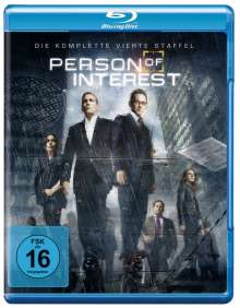 Person Of Interest Season 4 (Blu-ray), 4 Blu-ray Discs