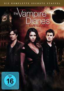 The Vampire Diaries Staffel 6, 5 DVDs