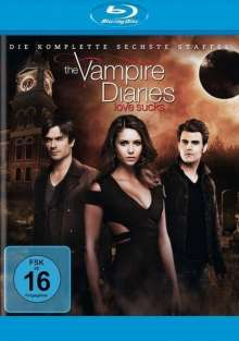 The Vampire Diaries Staffel 6 (Blu-ray), 4 Blu-ray Discs