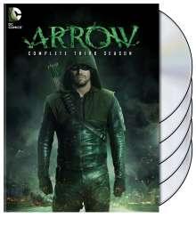 Arrow Staffel 3, 5 DVDs