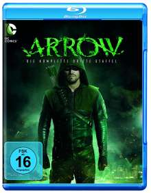 Arrow Staffel 3 (Blu-ray), 4 Blu-ray Discs