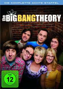 The Big Bang Theory Staffel 8, 3 DVDs